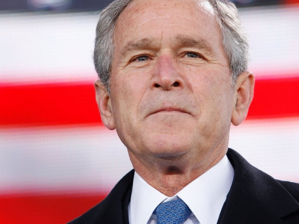 Tablouri realizate de George W. Bush, expuse la Washington